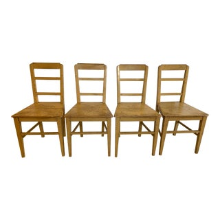 Modern El Paso Imports Farmhouse Chairs - Set of 4 For Sale