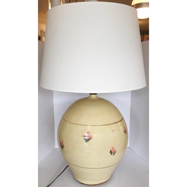 Italian Large Ceramic Table Lamp - Image 4 of 7