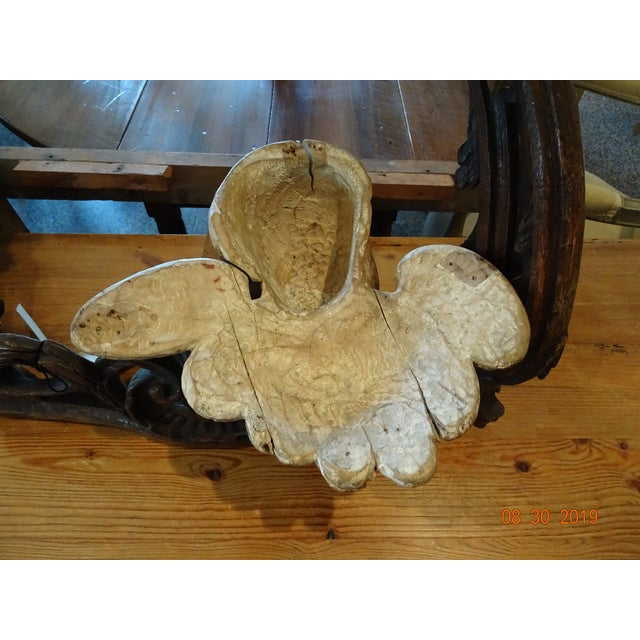 Tan 18th Century Antique Portuguese Cherub For Sale - Image 8 of 10