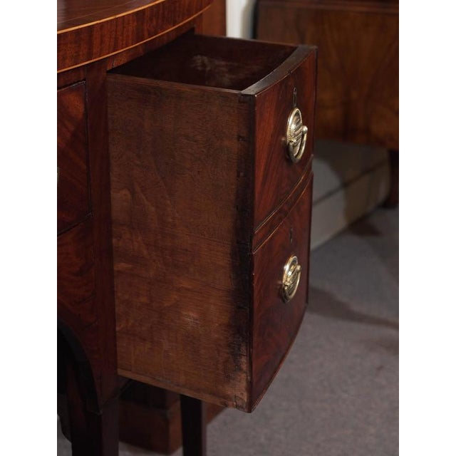 Antique English George III Mahogany Sideboard For Sale In New Orleans - Image 6 of 8