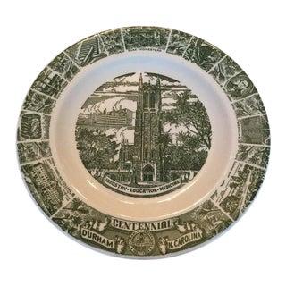 Centennial Commemorative Plate