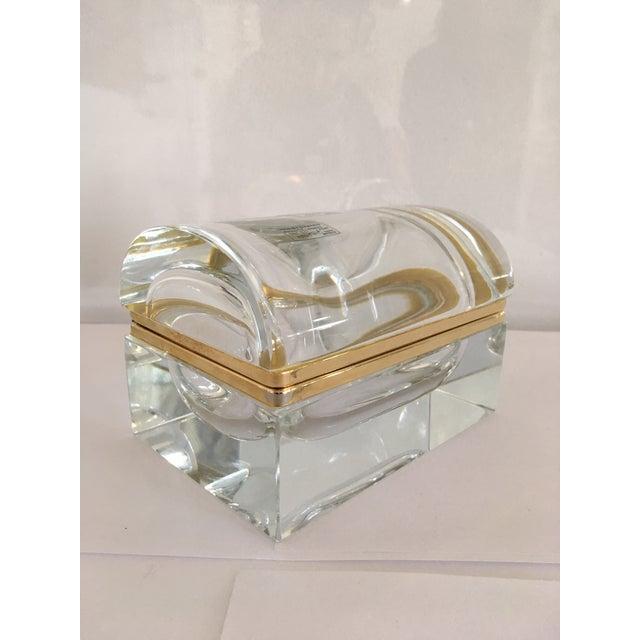Vintage Murano Glass Box- Mandruzzato For Sale - Image 11 of 11