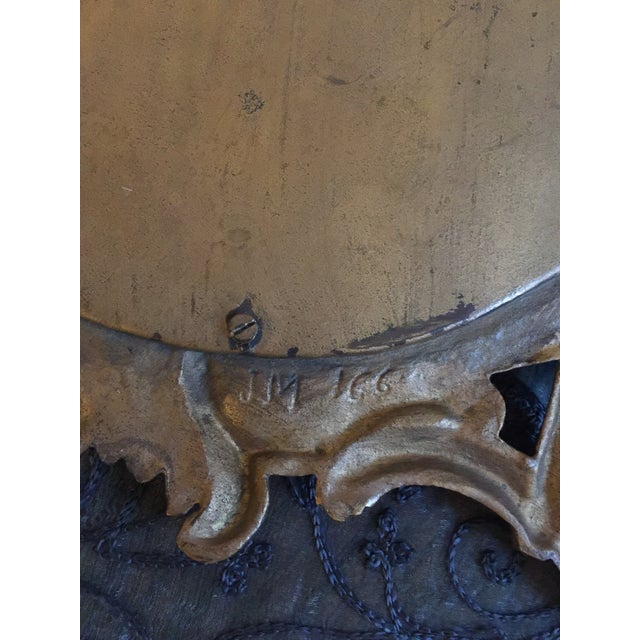 1800s Antique Louis XV Style French Vanity Mirror For Sale - Image 9 of 13