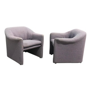 1980s Metropolitan Furniture Company Lounge Chairs - a Pair For Sale