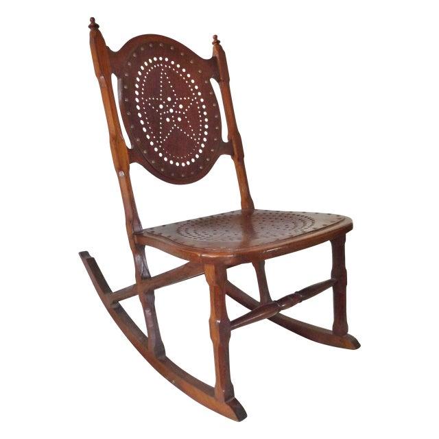 Antique Childs Rocking Chair C. 1872 - Antique Childs Rocking Chair C. 1872 Chairish