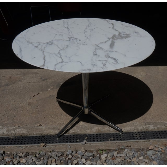 Florence Knoll Marble Table - Image 6 of 8