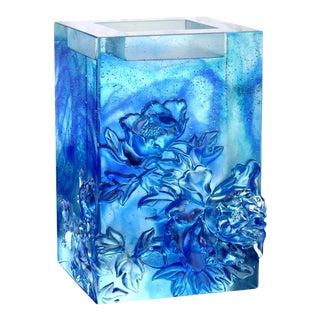 "Liuli Crystal Art ""Heavenly Splendor"" Crystal Candle Holder For Sale"