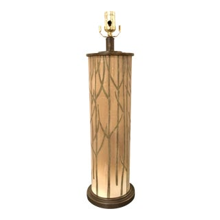 Currey & Co. Modern Nature Inspired Kellerwald Table Lamp For Sale