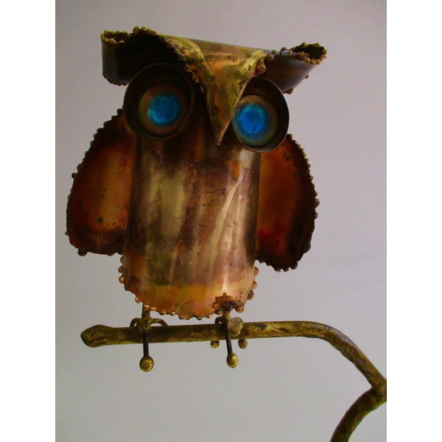 """""""Owl on Branch,"""" Early Sculpture by Curtis Jere - Image 10 of 11"""