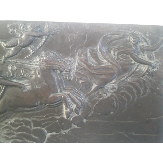 Neoclassical Bronzed Relief R.O. Prof. G. Gambogi For Sale In Denver - Image 6 of 10