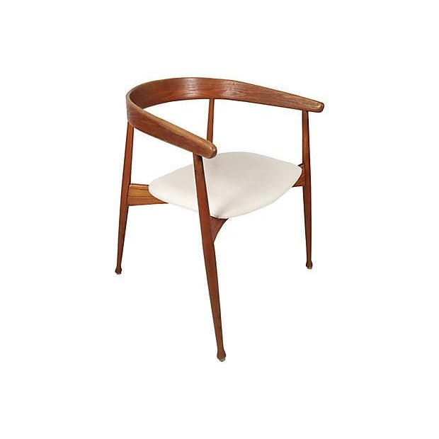 Danish Mid Century Modern Chairs - S/4 - Image 6 of 7