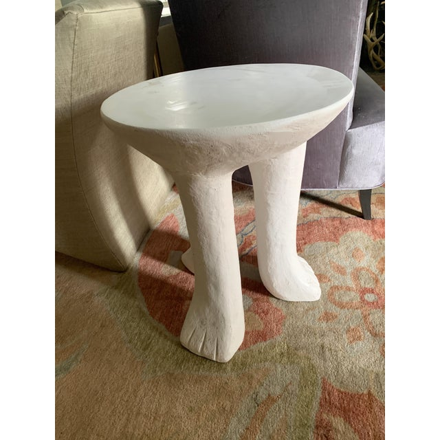 John Dickinson Style Africa Side Table For Sale In Los Angeles - Image 6 of 8