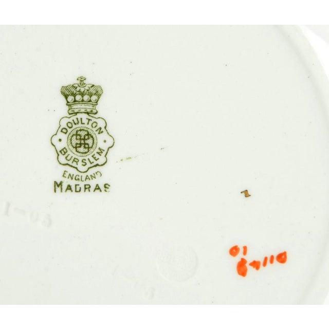 Ceramic 1950s Royal Doulton Madras Individual Rim Bowl - Set of 6 For Sale - Image 7 of 8