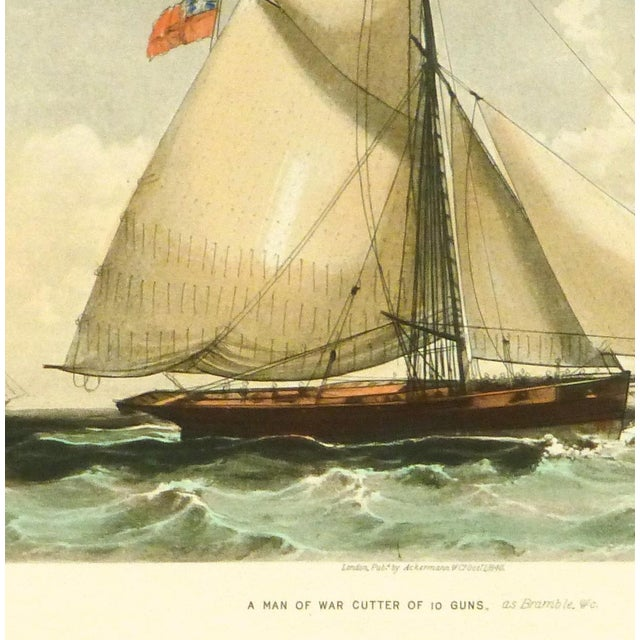 Cutter Ship Sail Boat Print - Image 2 of 4