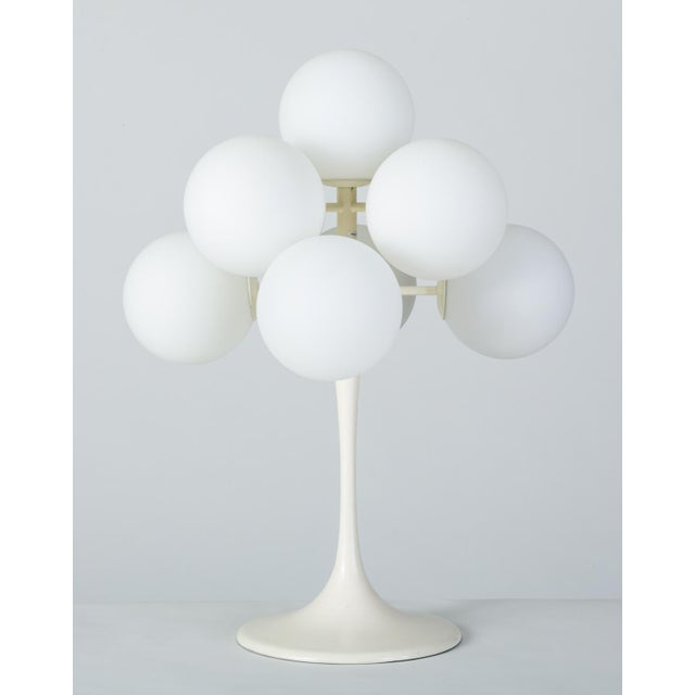 """Mid 19th Century """"Figuration"""" Table Lamp by e.r. Nele for Temde Leuchten For Sale - Image 5 of 10"""