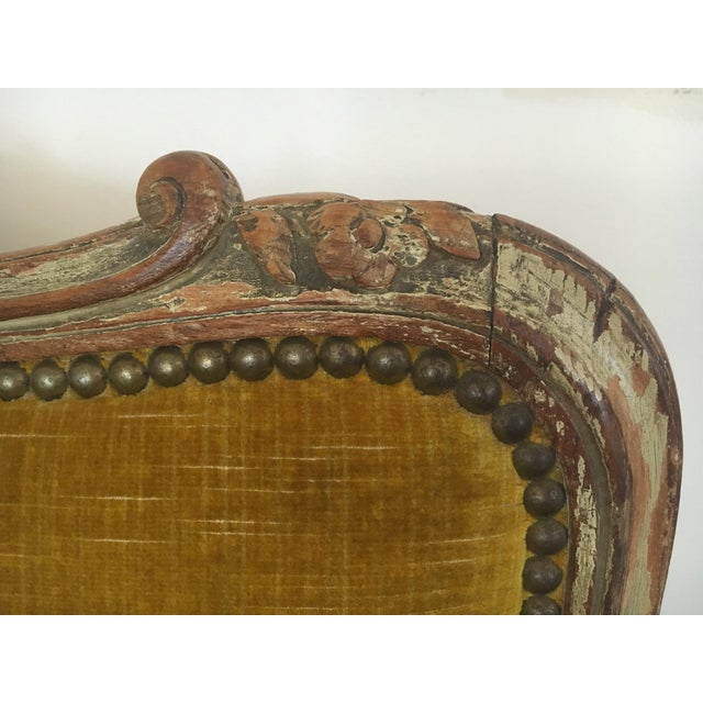 Antique Louis XV Daybed - Image 6 of 9