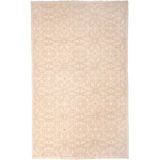 Contemporary Rug & Kilim High-Low Geometric Rug For Sale