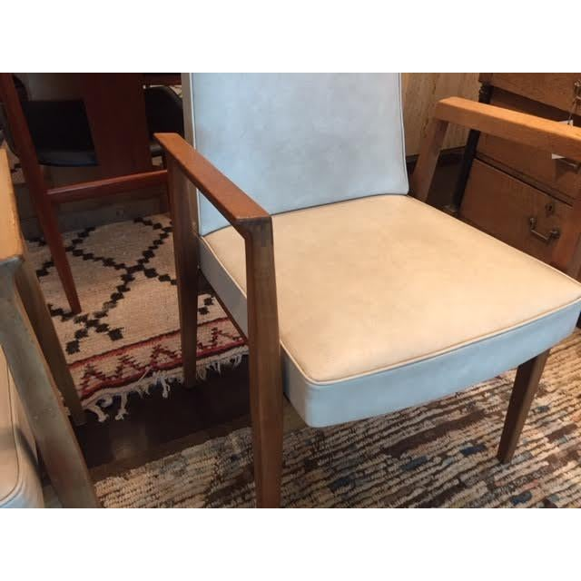 French Vintage French Thonet Armchairs - A Pair For Sale - Image 3 of 9