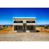 """Image of """"Prada Marfa"""" Print by M. Haupt Framed in White For Sale"""