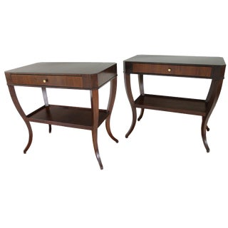 Niermann Weeks Saint Cloud Tables - a Pair For Sale