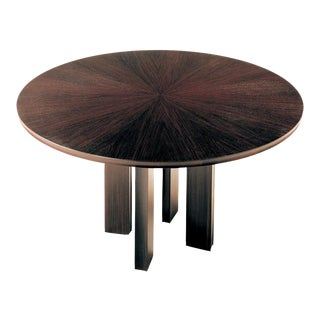"72"" Round Rosewood Dining Table For Sale"