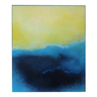 Illumination. Oil, Pastel on Framed Panel 2020 by C. Damien Fox For Sale