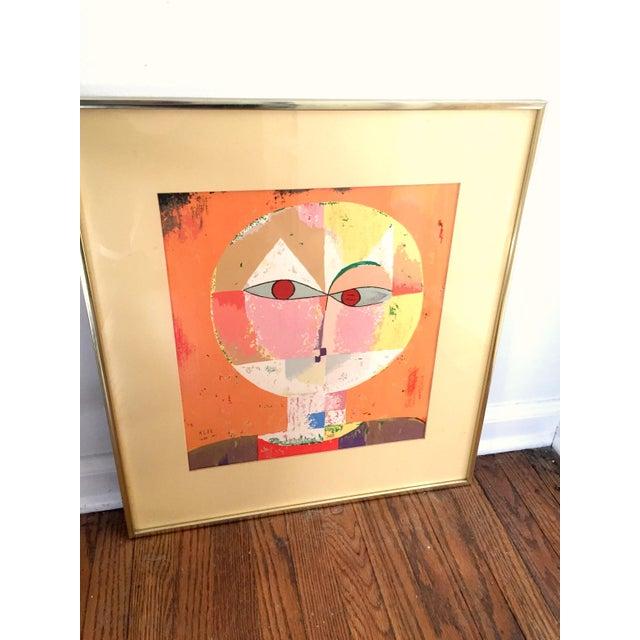 Paul Klee Paul Klee Senecio Head of Man Framed Art Print For Sale - Image 4 of 9