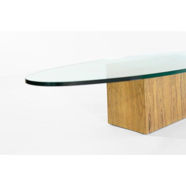 Rosewood Coffee Table by Harvey Probber, 1950s For Sale - Image 9 of 12