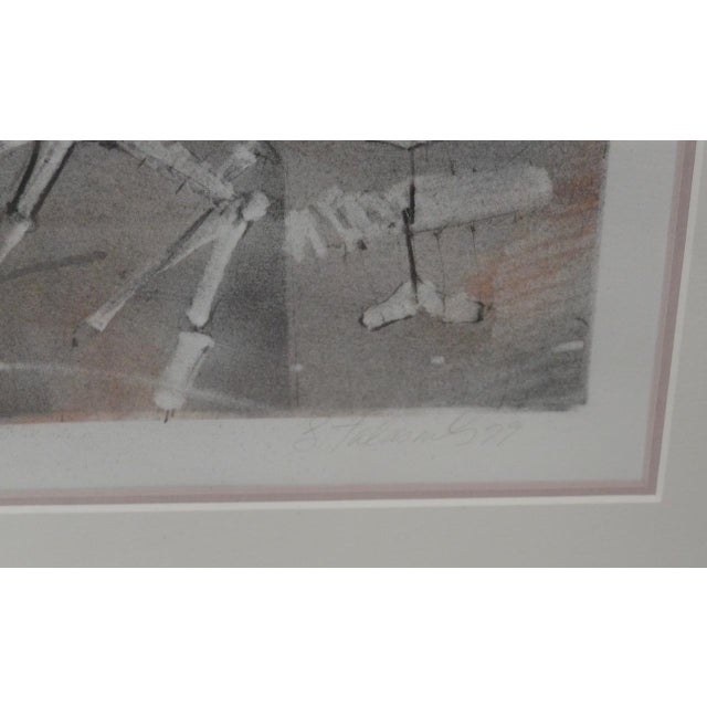 Vintage Pencil Signed Etching With Aquatint - Image 4 of 6