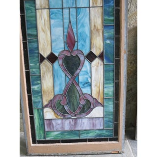 19th Century Victorian Stained Glass Window Preview