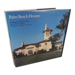 Palm Beach Houses Hard-Cover Vintage Coffee Table Book For Sale