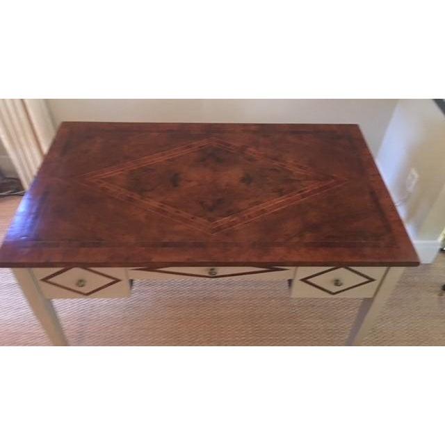 2010s Bennett Co. Custom Painted Desk For Sale - Image 5 of 8