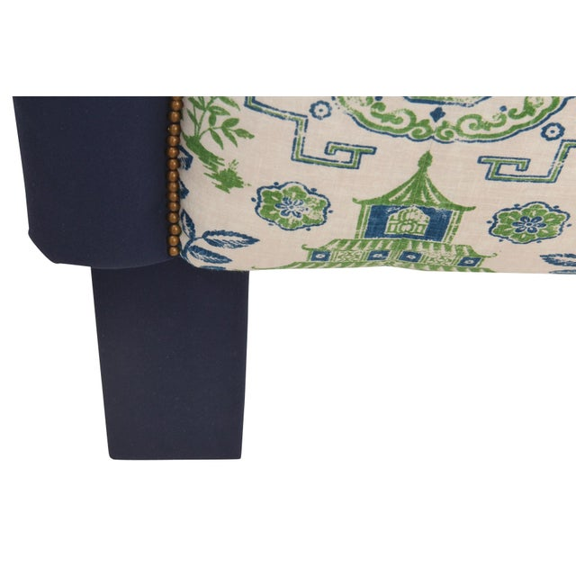 King Size Chinoiserie Style Headboard - Image 3 of 4