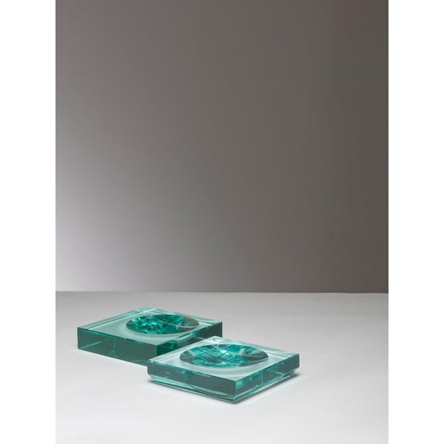 Mid-Century Modern Pair of Fontana Arte Trays For Sale - Image 3 of 5