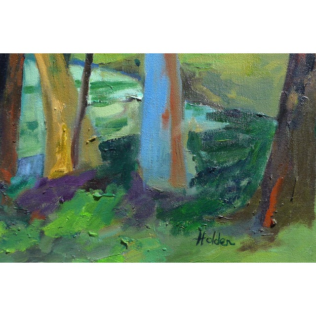 Contemporary Summer Landscape Painting - Image 3 of 5
