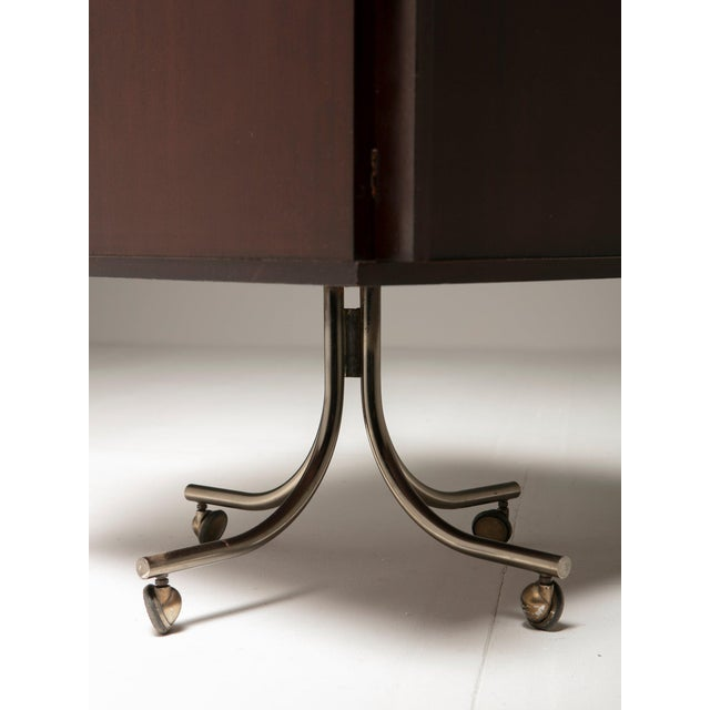 Metal Italian 60s Cabinet For Sale - Image 7 of 9