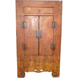 Antique Asian 2-Door Cabinet For Sale