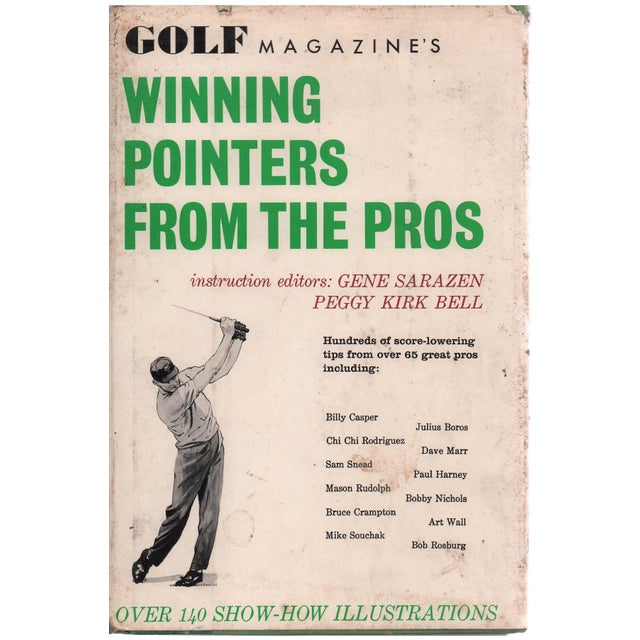 Golf Magazine's Winning Pointers from the Pros by Gene Sarazen. Illustrated by Lealand Gustavson. New York City: Universal...