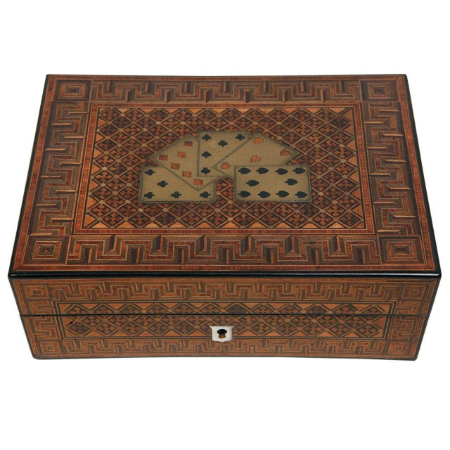 19th Century English Game Box For Sale - Image 11 of 11