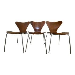 Series 7 Chair by Arne Jacobsen for Fritz Hansen Original 1967 For Sale