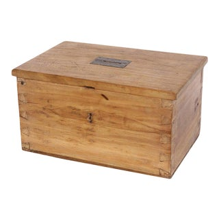 Antique French Offering Box For Sale