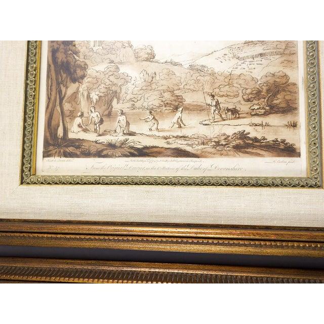 Richard Earlom 1775 Mezzotint Etchings - A Pair For Sale In San Antonio - Image 6 of 6