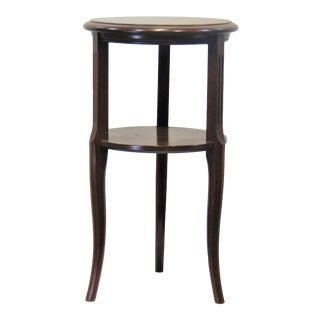 French Style Mahogany Wine Stand For Sale