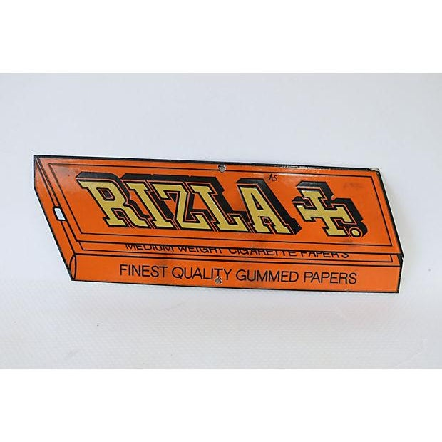 Vintage Rizla Cigarette Papers Store Sign - Image 2 of 3