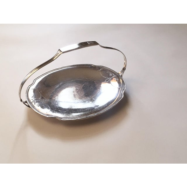 Victorian Church Bright Silver Communion Plate, Holiday Serving Tray - Image 6 of 10
