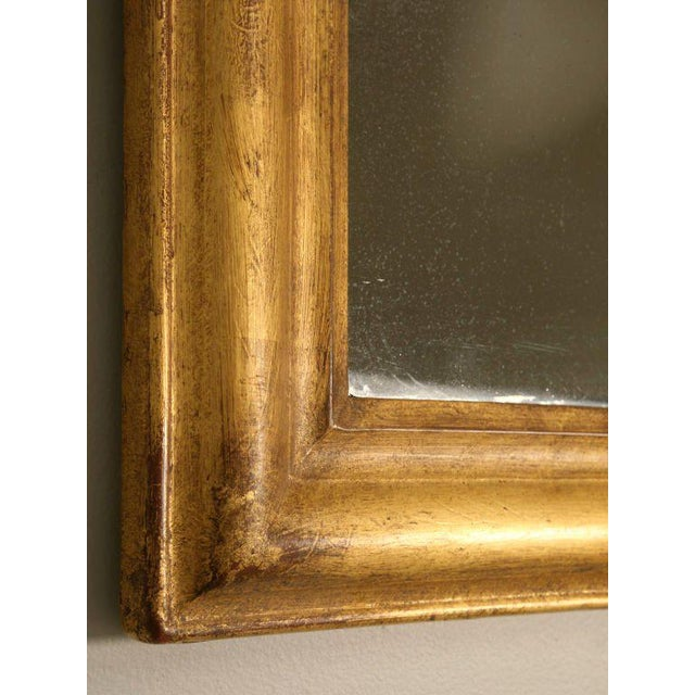 French Louis Philippe Gilt Mirror, Circa 1850 For Sale In Chicago - Image 6 of 12