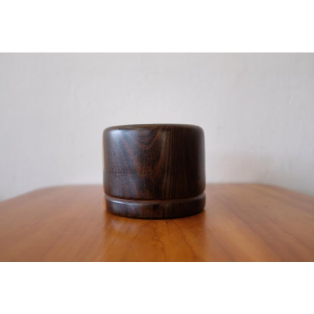 1970s Cocobolo Vessel by Mexican Modernist Don Shoemaker, 1970s For Sale - Image 5 of 7