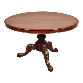 Late 19th Century French Pedestal Table For Sale