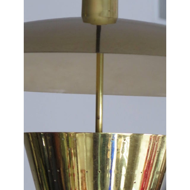 Brass Pendant Adjustable Lamp For Sale In Tampa - Image 6 of 9