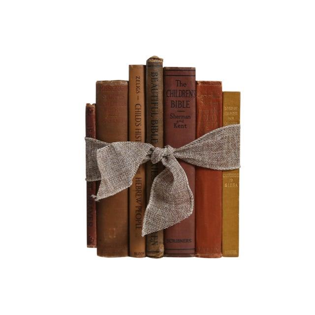 Antique Christian Reading for Children Gift Set, S/7 For Sale